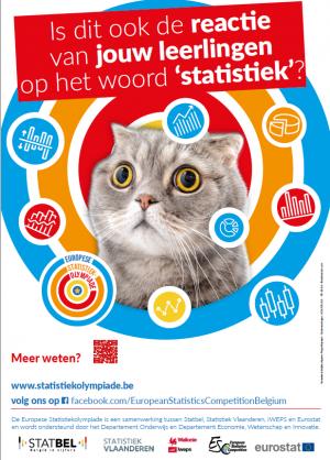 Affiche Europese Statistiekolympiade