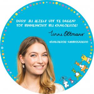 Kangoeroe-ambassadeur Tinne Oltmans