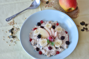 muesli met fruit