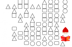 Parcours met verschillende vormen