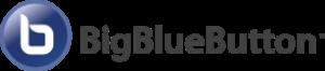 Het logo van BigBlueButton.