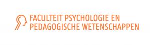 logo faculteit psychologie en pedagogische wetenschappen