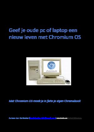 Voorbeeld uit: Geef je oude pc of laptop een nieuw leven met Chromium OS_cu.pdf