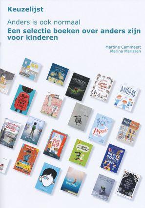 Kaft keuzelijst Anders is ook normaal. Een selectie boeken over anders zijn voor kinderen