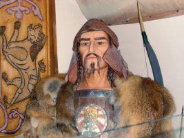 borstbeeld van Attila