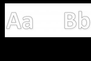 Voorbeeld uit: alfabet letters dieren tekenen .docx