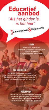 Brochure Educatief aanbod