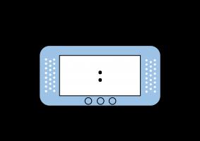 Voorbeeld uit: Digitale klok (blanco).pdf