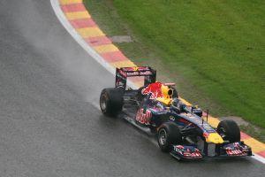 racewagen op het circuit