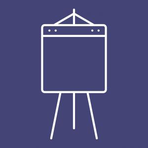 flip over presentatiebord