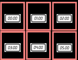 Voorbeeld uit: ganzenbord klok (kaartjes).docx