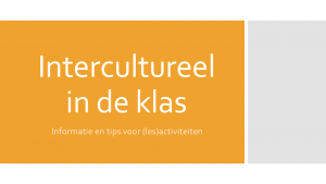 Titel intercultureel in de klas