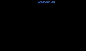 Voorbeeld uit: Homophones.docx