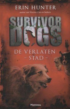 Cover van het boek Survivor dogs: de verlaten stad