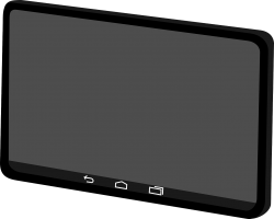 A touchscreen.