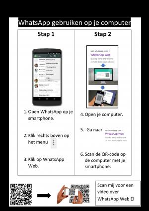 Voorbeeld uit: fiche_WhatsAppWeb_inclQRvoorvideo.docx