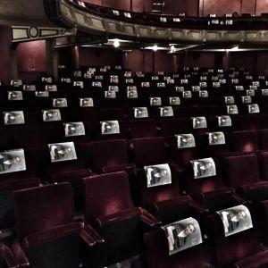 De theaterzaal van Opera Ballet Vlaanderen in Covid19 - tijden