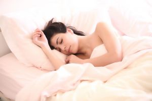 vrouw die slaapt