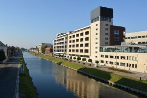 foto langs kanaal Mechelen