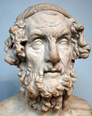 Buste Homerus