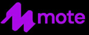 Het logo van mote.
