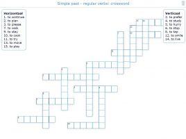 Afbeelding van een kruiswoordraadsel