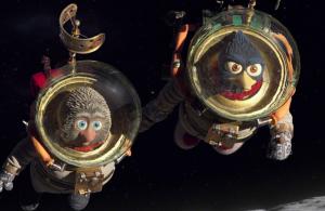 Solan & Ludwig in astronautenuniform