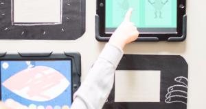 Wijzende vinger en iPads