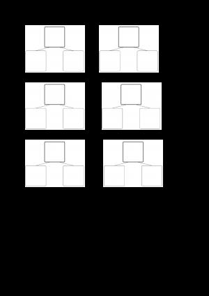 Voorbeeld uit oefenblad splitsingen