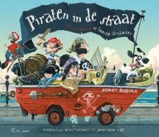 Cover van het boek Piraten in de straat