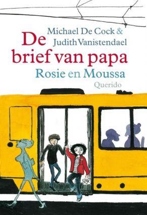 Cover van het boek De brief van papa: Rosie en Moussa
