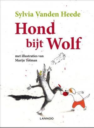 Cover van het boek Hond bijt wolf