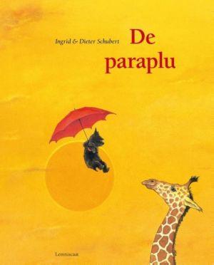 Cover van het boek De paraplu