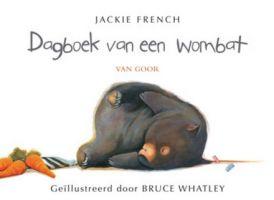 Cover van het boek Dagboek van een wombat