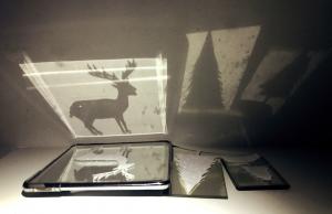 Spelen met licht & reflectie kunstwerkjes