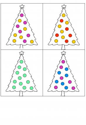 Voorbeeld uit: Transparante fiches kerstboom.pdf