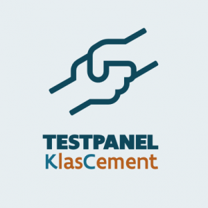 Testpanel KlasCement logo