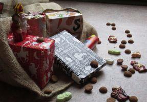 Pakjes en snoepgoed Sinterklaas