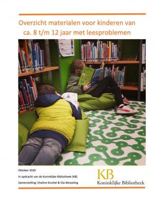 Overzicht materialen voor kinderen met leesproblemen (2020)