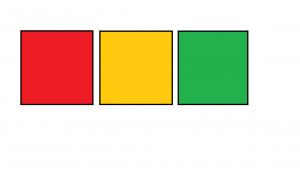 rood oranje groen