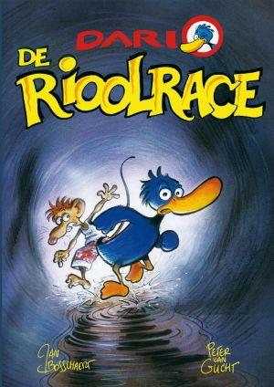 Cover Stripverhaal De Rioolrace
