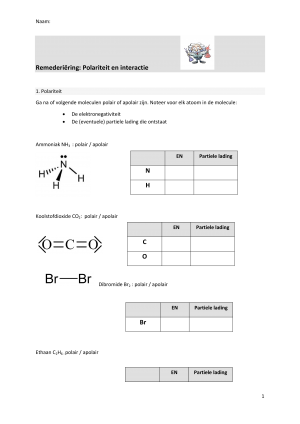 Voorbeeld uit: remedPolariteit en interactie.docx