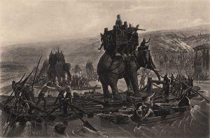 Hannibal met krijgsolifant