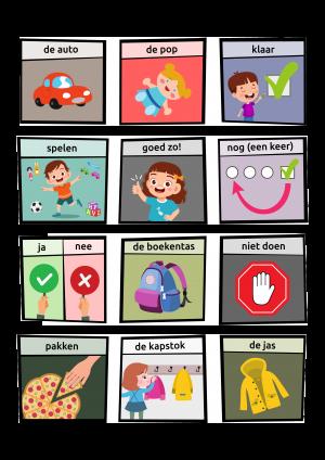 Voorbeeld uit GO4ty pictogrammen