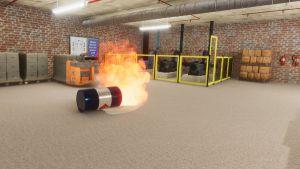 Afbeelding van een brand