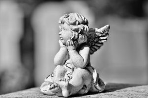 rouwende engel