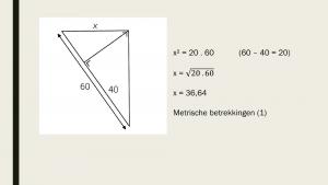 Voorbeeld uit: quiz met quickies Metrische Betrekkingen.pptx