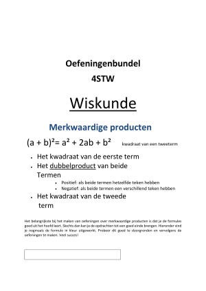 Voorbeeld uit: Oefeningenbundel.merkwaardige producten.docx