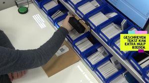 Voorbeeld van video 'Augmented Reality als assistentietechnologie in Buitengewoon Onderwijs.'
