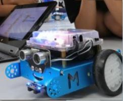 Afbeelding van een mBot - educatieve robot